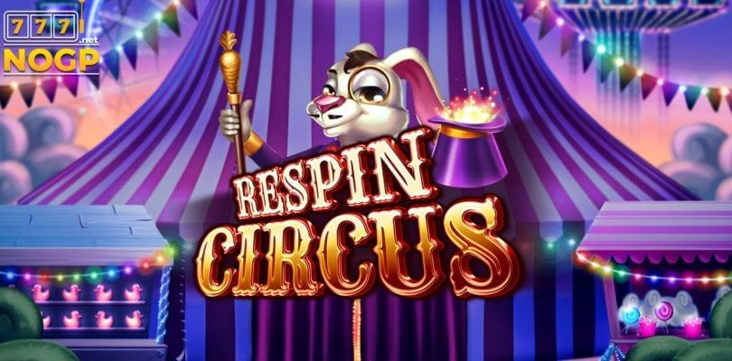 respin circus video slot logo 810x400