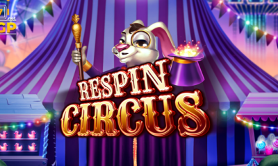respin circus video slot logo 810x400